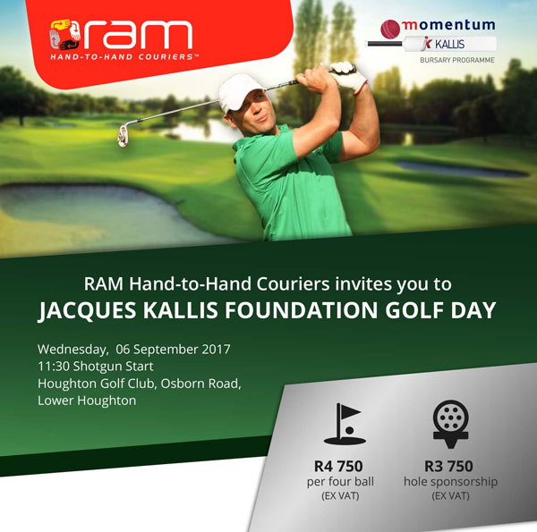 Jacques Kallis Foundation Golf Day